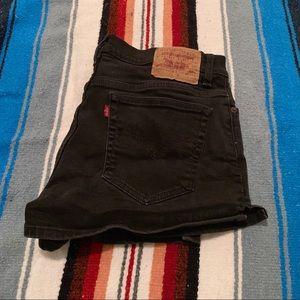 Vintage Orange Tag Levi's Shorts